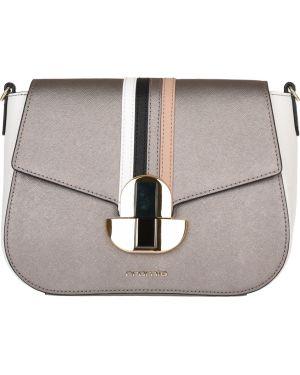 Кожаная сумка - коричневая Cromia