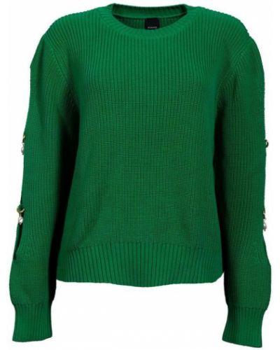 Zielony pulower Pinko