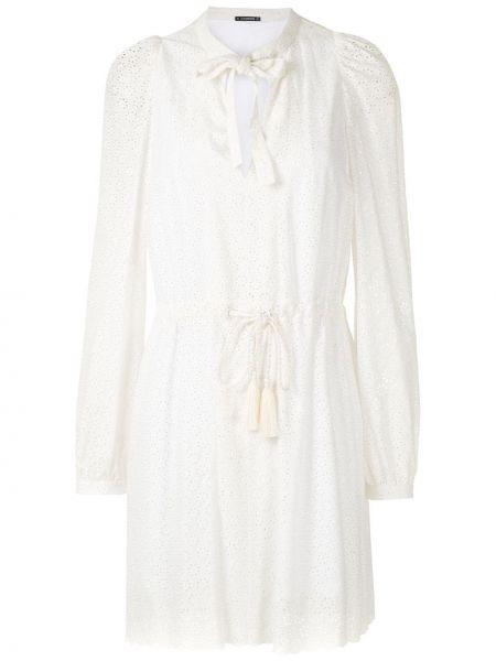 Платье макси длинное - белое À La Garçonne