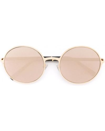 Солнцезащитные очки металлические хаки Gold And Wood