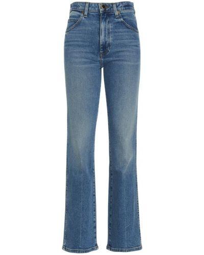 Niebieskie mom jeans Khaite