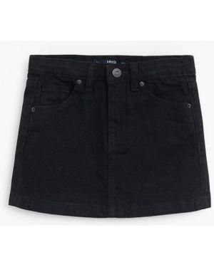Черная джинсовая юбка Mango Kids