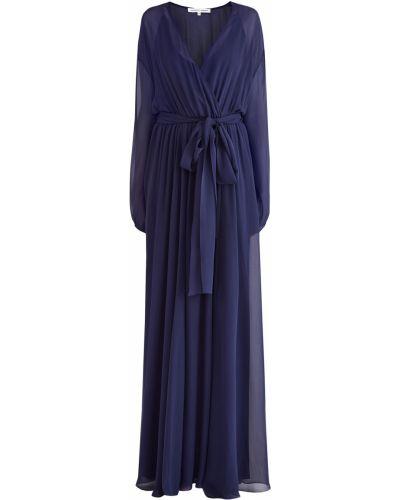 Вечернее платье с запахом макси Alexander Terekhov
