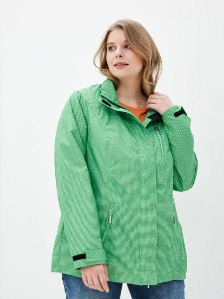 Утепленная куртка демисезонная весенняя Ulla Popken
