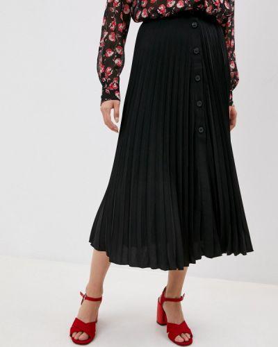 Плиссированная черная юбка Seventy