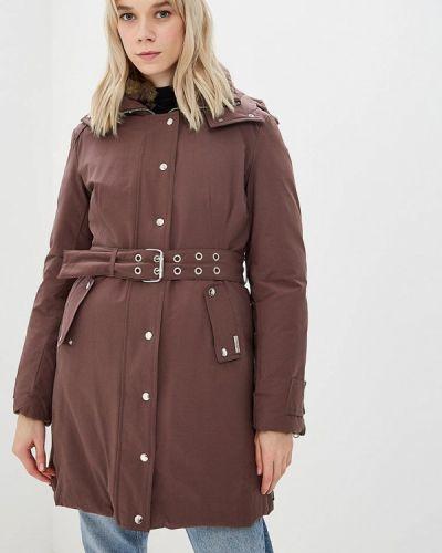 Утепленная куртка - оранжевая Trussardi Collection
