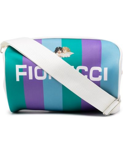 Zielona torebka z printem Fiorucci