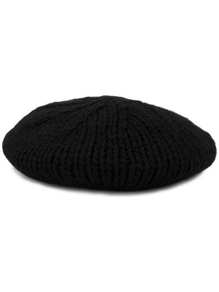 Czarny beret wełniany Undercover