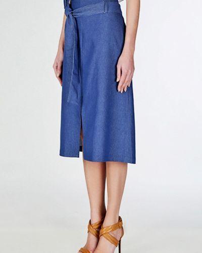 Синяя джинсовая юбка Basic Story