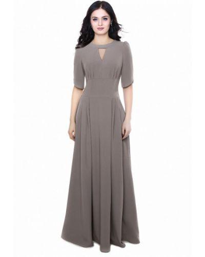 Вечернее платье серое Grey Cat