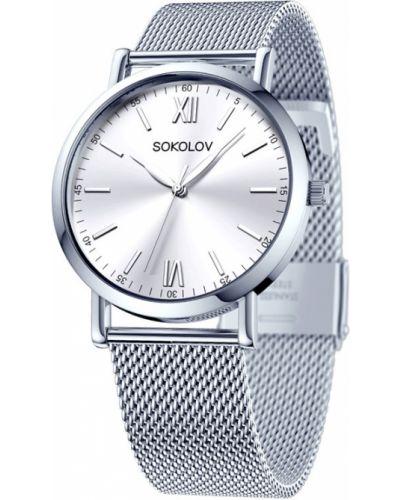 Кварцевые часы классические Sokolov