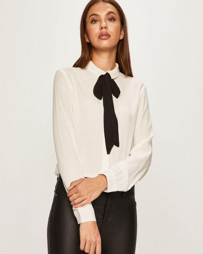 Блузка с длинным рукавом однотонная из вискозы Only