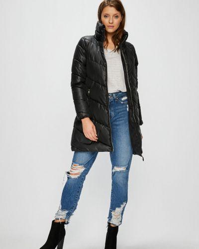 Утепленная куртка с карманами черная Broadway