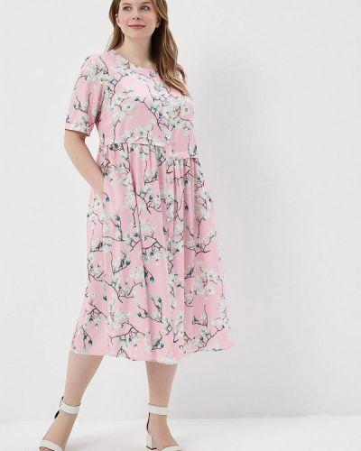 Розовое платье Madam T