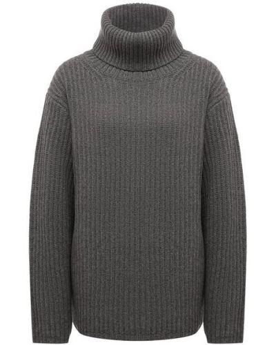 Шерстяной свитер - серый Not Shy