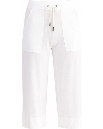 Укороченные брюки с накладными карманами с карманами Eleventy