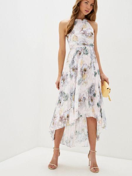Розовое вечернее платье Ted Baker London