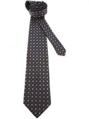 Złoty krawat - biały Gianfranco Ferré Pre-owned