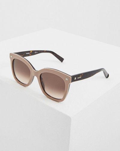 Солнцезащитные очки прямоугольные квадратные Max Mara