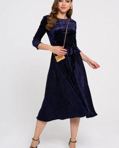 Вечернее платье - синее Gold Chic Chili