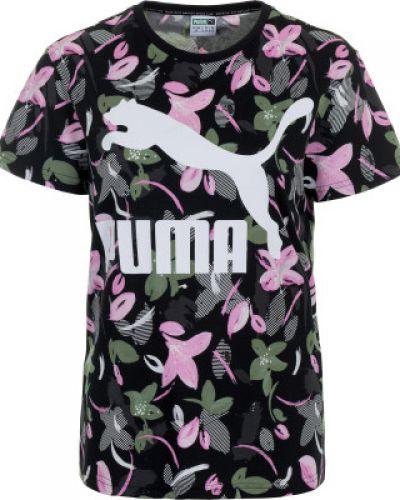 Футболка с логотипом спортивная прямая Puma