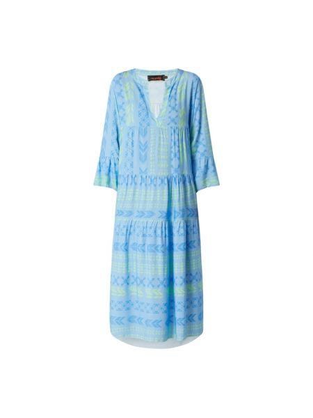 Sukienka rozkloszowana - turkusowa Miss Goodlife