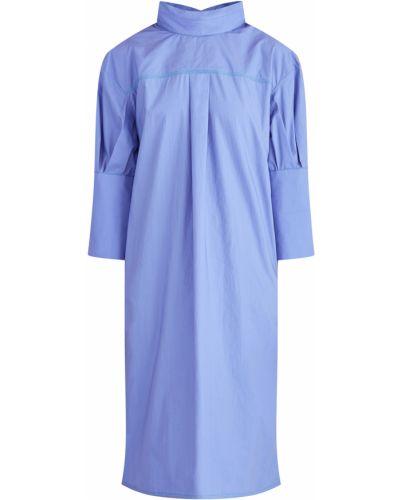 Платье оверсайз с манжетами Marni