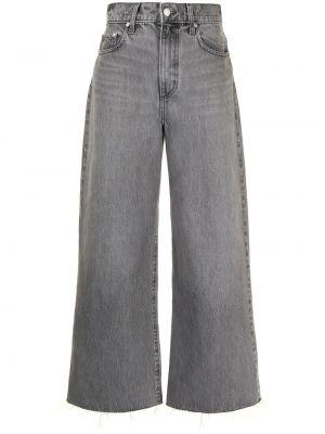 С завышенной талией серые джинсы свободного кроя Nobody Denim