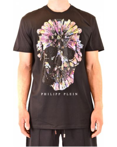 Czarna t-shirt Philipp Plein