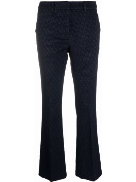 Синие хлопковые брюки Seventy