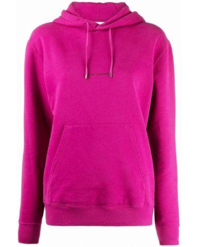 Różowa bluza Saint Laurent
