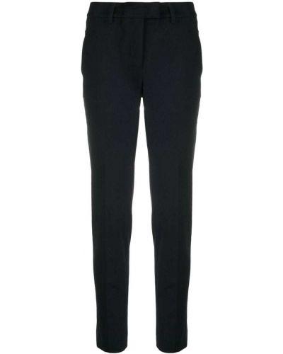 Классические брюки - синие Incotex
