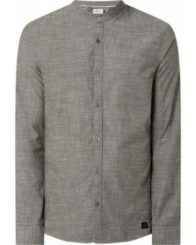 Beżowa koszula bawełniana z długimi rękawami Nowadays
