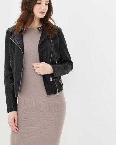 Куртка весенняя черная Fascinate