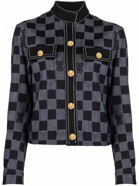 Синяя куртка с карманами Giambattista Valli