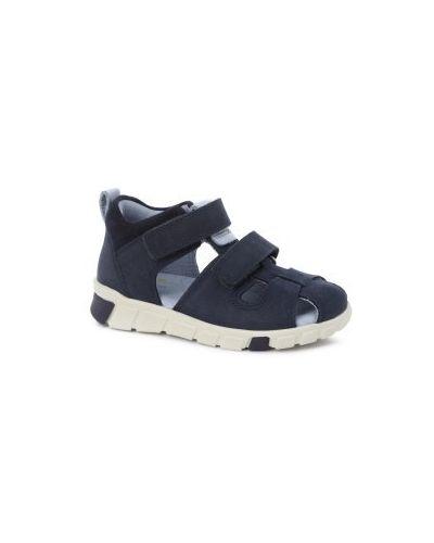 Темно-синие сандалии Ecco