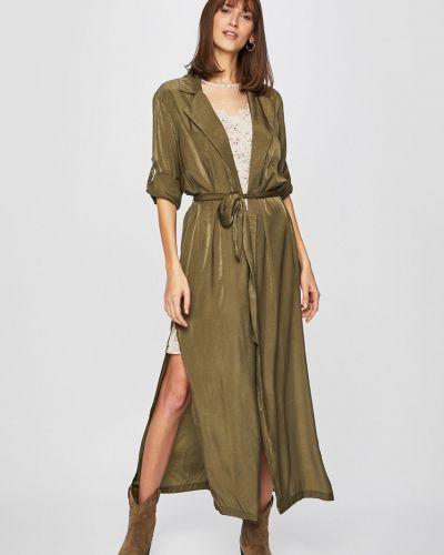Классический пиджак прямой зеленый Answear