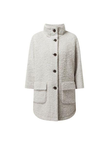 Biała kurtka wełniana Comma