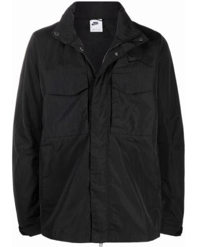 Длинная куртка - черная Nike