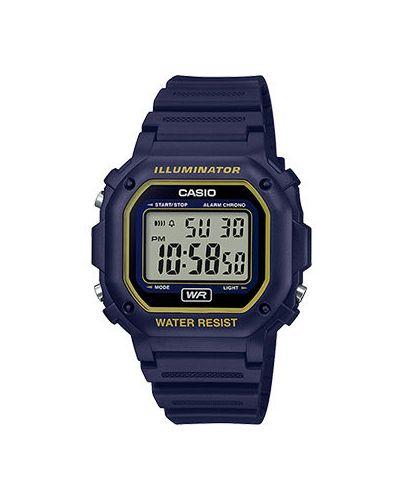 Часы водонепроницаемые с подсветкой электронные Casio