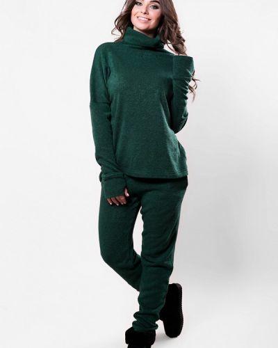 Зеленый костюм вязаный Sfn