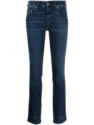Прямые джинсы классические - синие Diesel