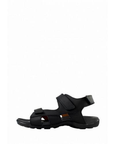 Кожаные сандалии - черные Cliford