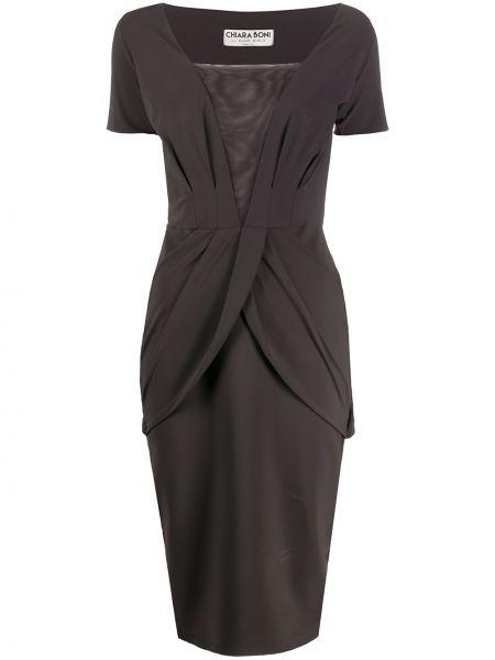 Платье мини миди со вставками Le Petite Robe Di Chiara Boni