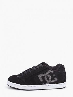 Черные низкие кеды из нубука Dc Shoes
