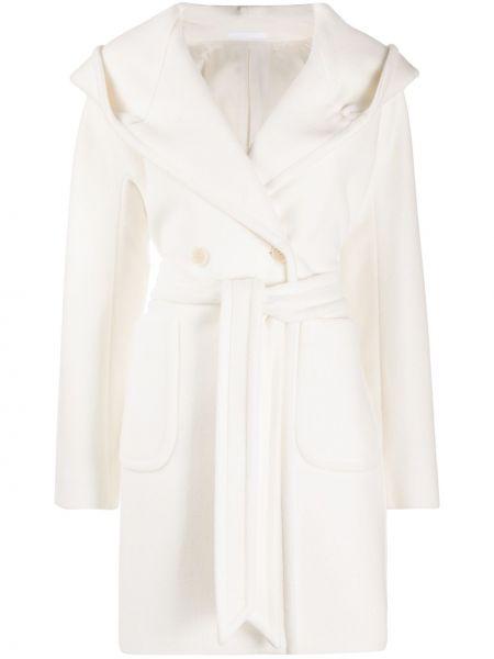Klasyczny płaszcz wełniany z kapturem Tagliatore