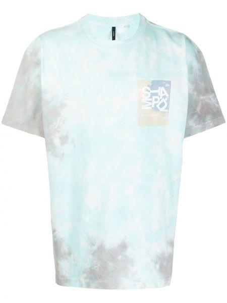 Koszula krótkie z krótkim rękawem prosto z nadrukiem Stampd