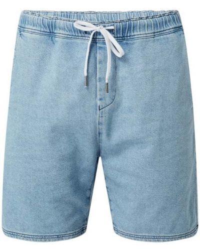 Niebieskie szorty jeansowe bawełniane Nowadays