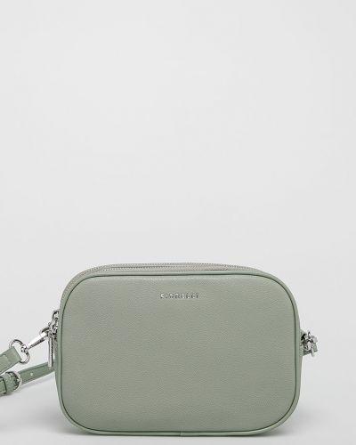 Кожаная сумка через плечо - зеленая Fiorelli