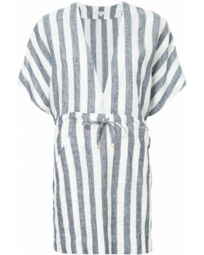 Платье в полоску льняное Venroy